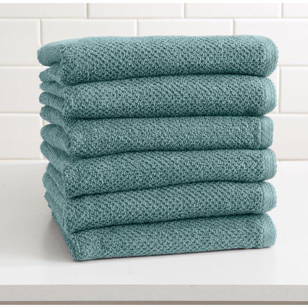 Marin Cotton Hand Towel (Set of 6) by Alwyn Home