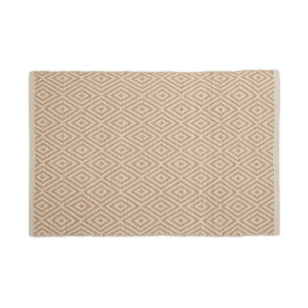 Hand-Loomed Tan Area Rug by Harbormill