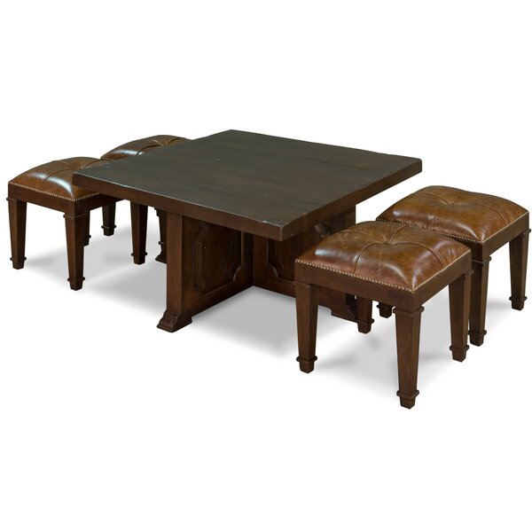 Review Datto Solid Wood Abstract Coffee Table