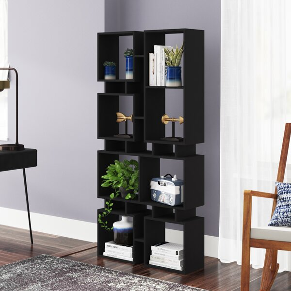 Arthur Modern Geometric Bookcase By Brayden Studio