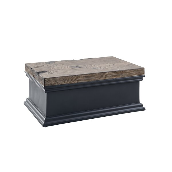 Jeffers Stone/Concrete Coffee Table by Union Rustic