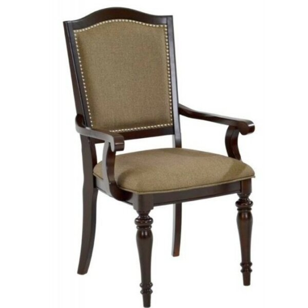 Bob Upholstered Arm Chair In Beige (Set Of 2) By Darby Home Co