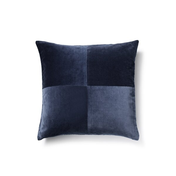 Cotton Velvet Throw Pillow by to BE living