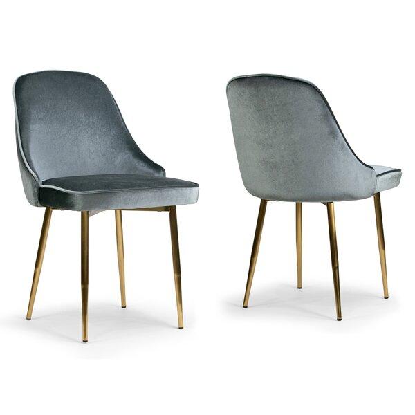 Tebikerei Upholstered Dining Chair (Set of 2) by Mercer41
