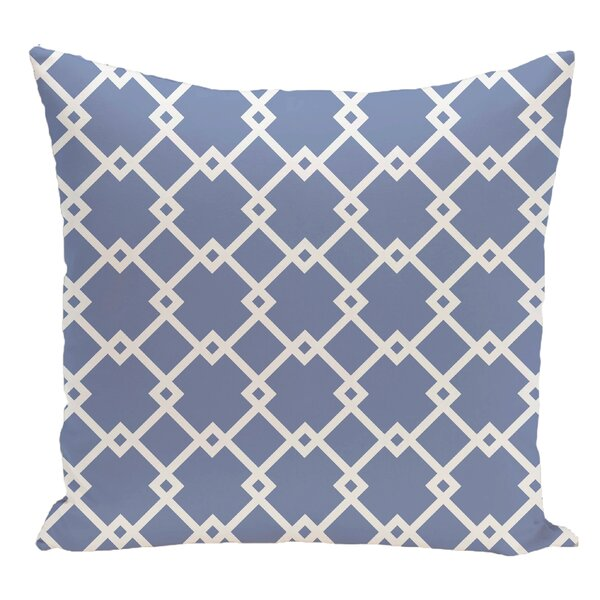 Geometric Decorative Floor Pillow by e by design