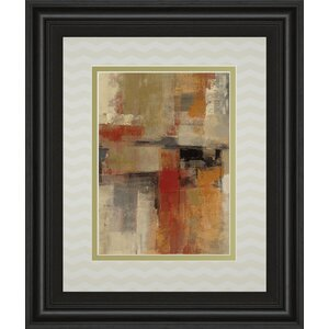 Intersection Crop I by Sylvia Vassileva Framed Painting Print by Classy Art Wholesalers