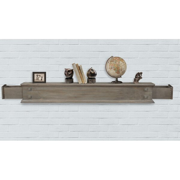 Jackson 2 Drawer Fireplace Shelf Mantel by Pearl Mantels