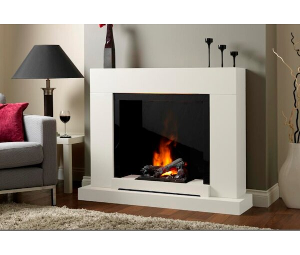 Aldo Electric Fireplace by Orren Ellis
