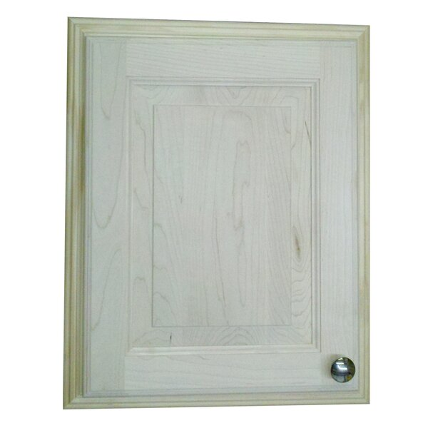 Baldwin 15.5 W x 19.5 H Recessed Cabinet by WG Wood Products
