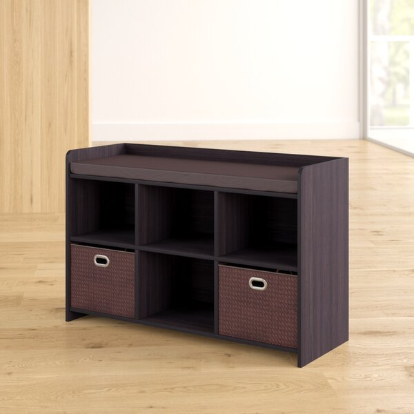 Makayla Cubby Storage Bench By Zipcode Design