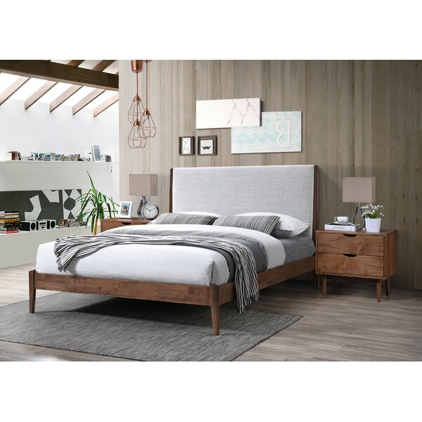 Collette Upholstered Platform Bed by Modern Rustic Interiors