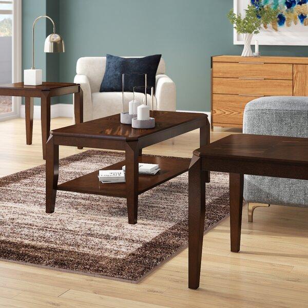 Salamone 3 Piece Coffee Table Set by Ebern Designs Ebern Designs