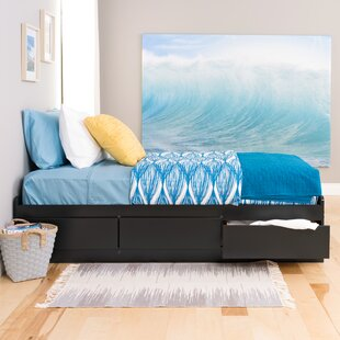 Great choice Norristown Extra Long Twin Platform Bed with Storage ByAndover Mills