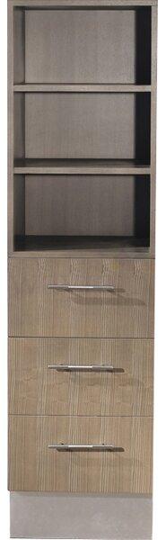 Diara 18 W x 65 H Linen Tower by Bauhaus Bath