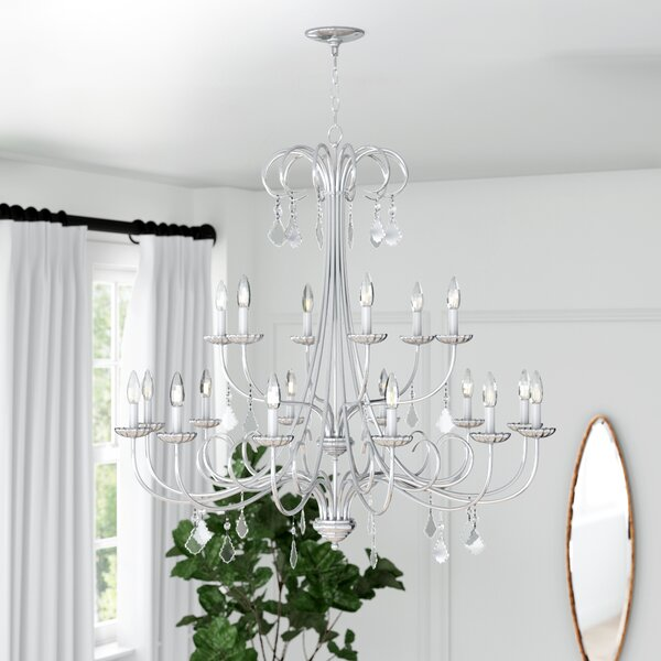 Devan 18 - Light Candle Style Tiered Chandelier By Willa Arlo Interiors