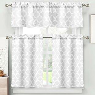 Kitchen Curtains U0026 Valances Youu0027ll Love | Wayfair