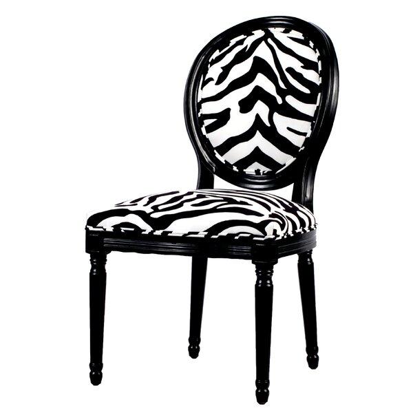 Mayssa Zebra Upholstered Chair By Bloomsbury Market