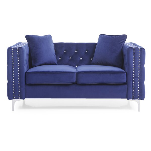 Cannella Loveseat by Everly Quinn