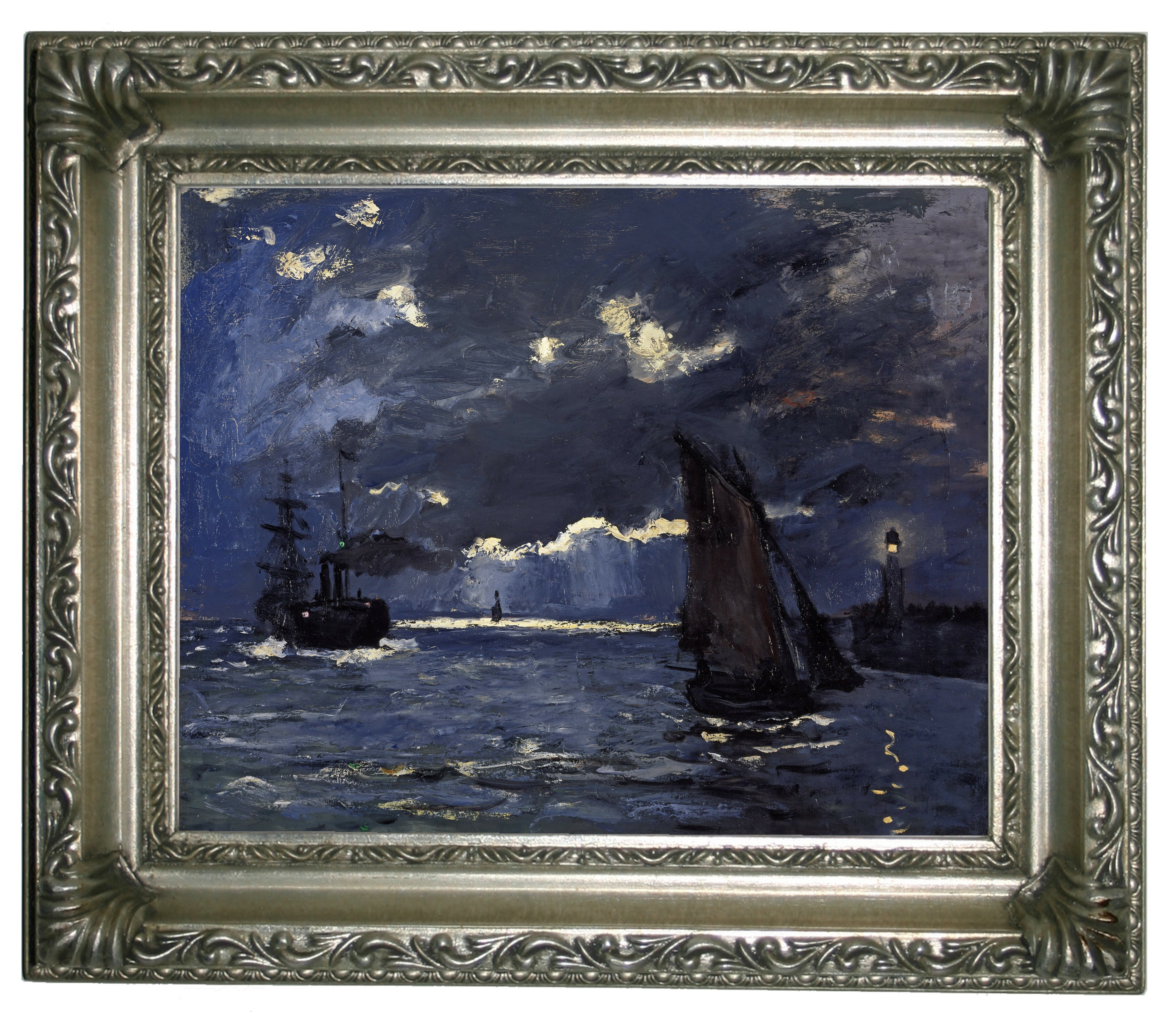 Seascape by Claude Monet Giclee Fine ArtPrint Reproduction on Canvas