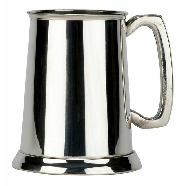 Friary Plain 16 oz. Glass Mug by Pinnacle Peak Trading Co