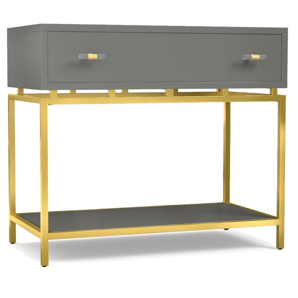 Vallejo 1 Drawer Nightstand by Everly Quinn