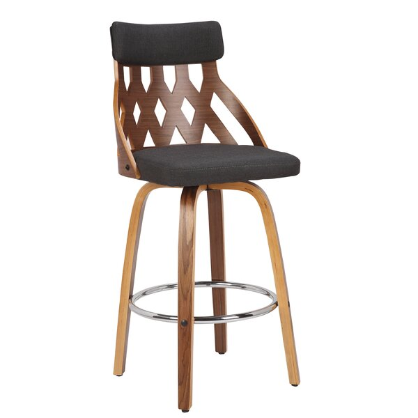 Charlotte 26 Swivel Bar Stool by Foundry Select
