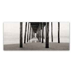 'Under the Pier' by Gregory O'Hanlon Photographic Print on Wrapped Canvas by Trademark Fine Art