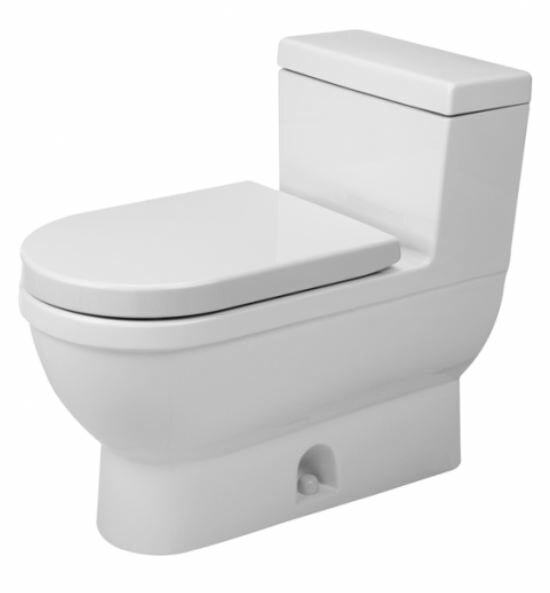 Starck 3 1.28 GPF Elongated One-Piece Toilet by Duravit