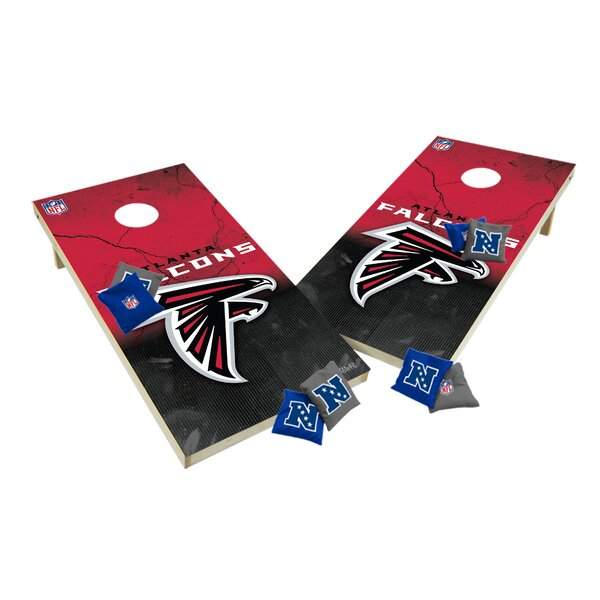 NFL XL Shields Cornhole Set by Tailgate Toss