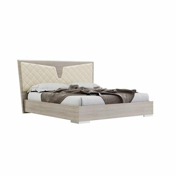 Labarre Wooden King Upholstered Platform Bed by Orren Ellis