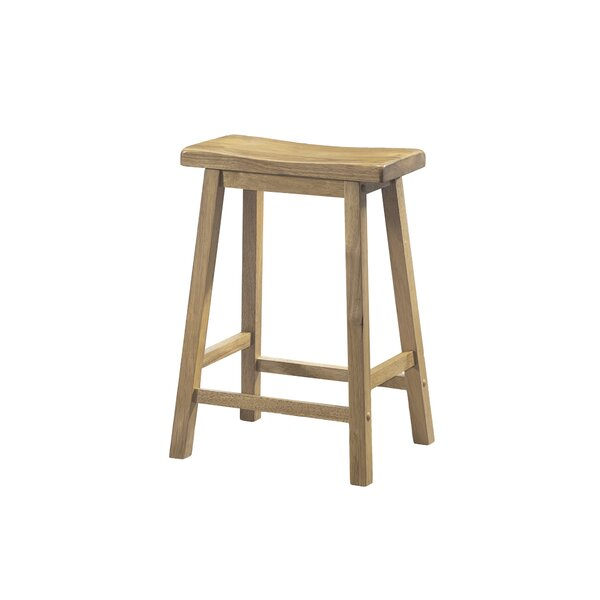 Greenwald 24 Bar Stool (Set of 2) by Beachcrest Home