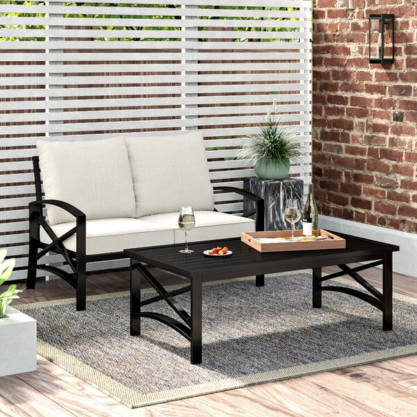Emmett 2 Piece Sofa Seating Group with Cushions by Ivy Bronx