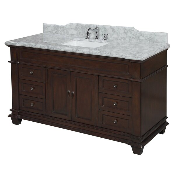 Elizabeth 60 Single Bathroom Vanity Set by Kitchen Bath Collection