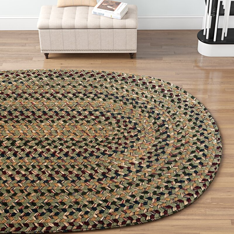 Innsbrook Braided Palm Area Rug