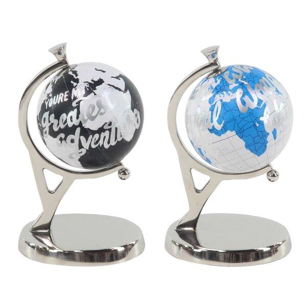 Modern 2 Piece Globe by Ebern Designs