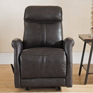 Mosby Leather Manual Recliner ..