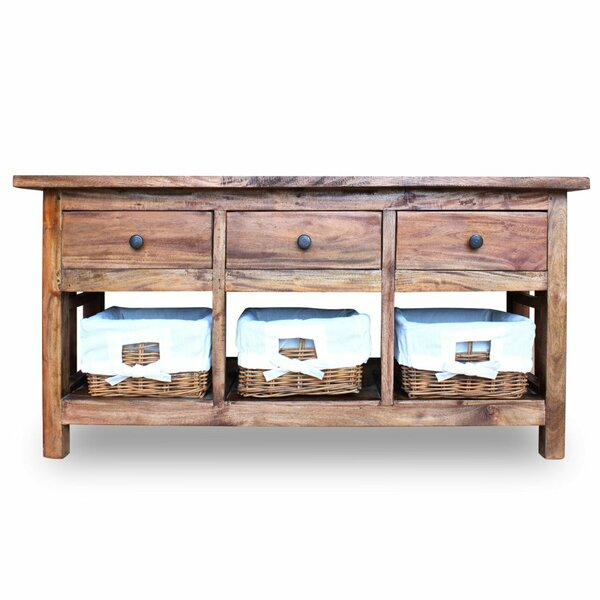 Sea Ranch Solid Reclaimed Wood Sideboard by Highland Dunes