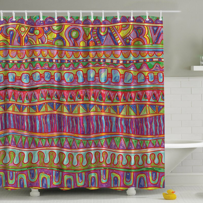 Ambesonne Tribal Print Shower Curtain Reviews