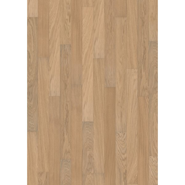 Linnea 4-5/8 Engineered Oak Hardwood Flooring in Meringue by Kahrs