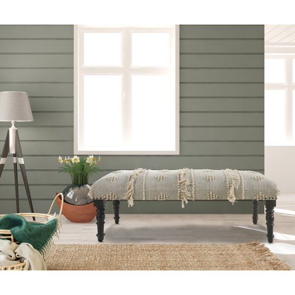 Ilminster Upholstered Bench by Bungalow Rose