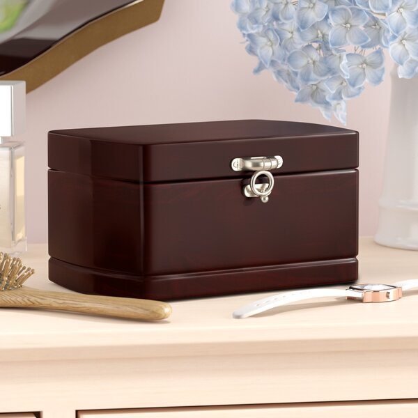 Treasure Chest Dual Layer Jewelry Box by Alcott Hill