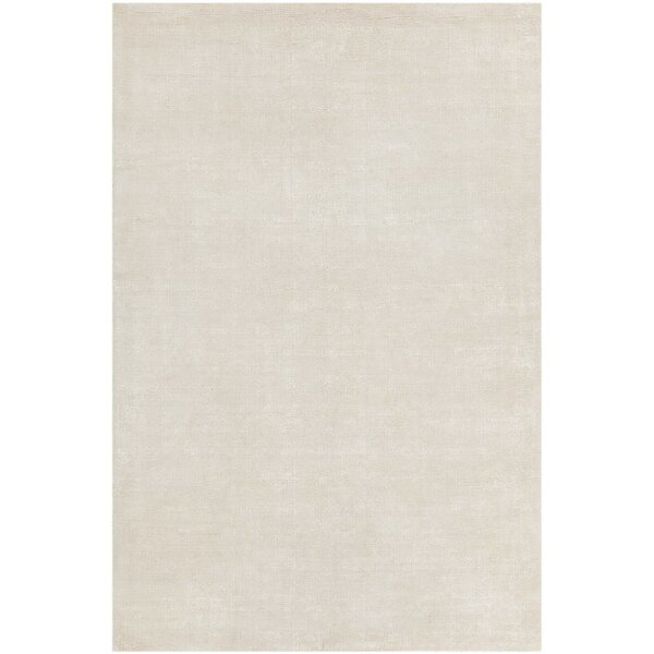Greger Solid Cream Area Rug by One Allium Way