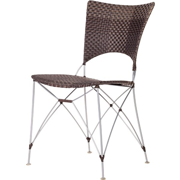 Zen Outdoor Patio Dining Chair by Bungalow Rose