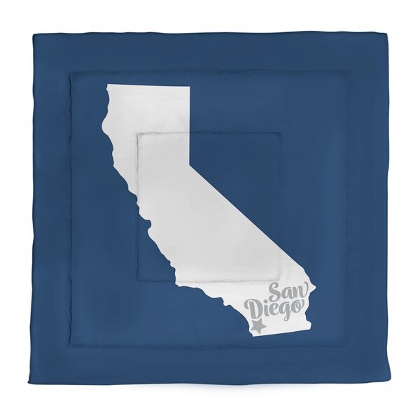 San Diego Single Reversible Comforter