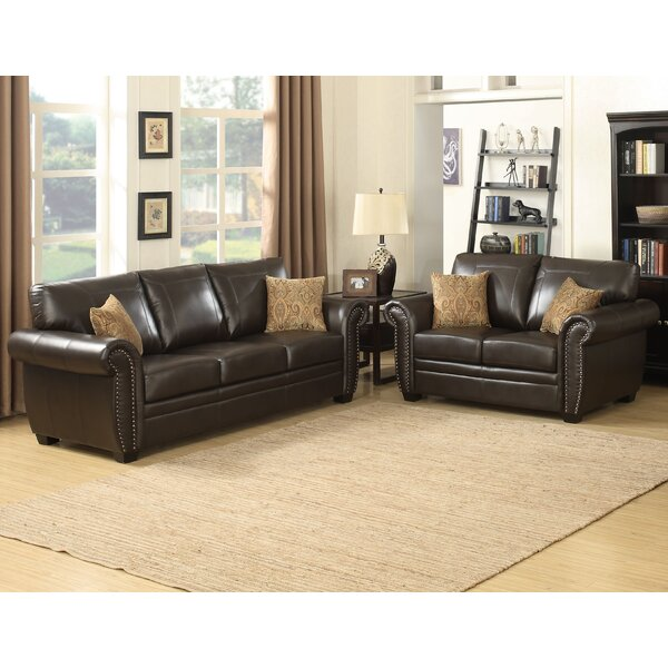 Louis 2 Piece Living Room Set by AC Pacific
