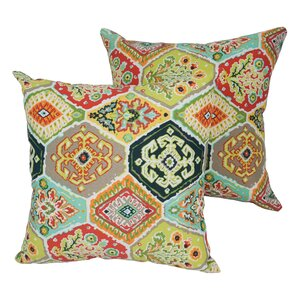 Designer Indoor/Outdoor Throw Pillow (Set Of 4)