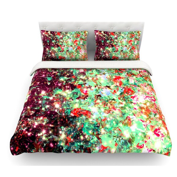 Mistletoe Nebula by Ebi Emporium Featherweight Duvet Cover by East Urban Home