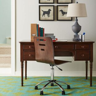 Teaberry Lane Solid Wood Writing Desk