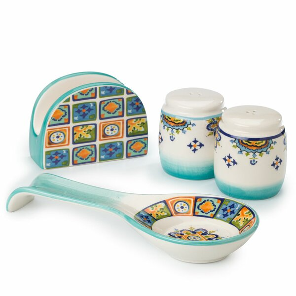 Mumbai Completer Set by Euro Ceramica