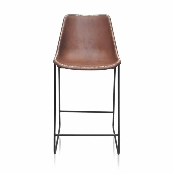 Pinder 23'' Short Stool by 17 Stories 17 Stories
